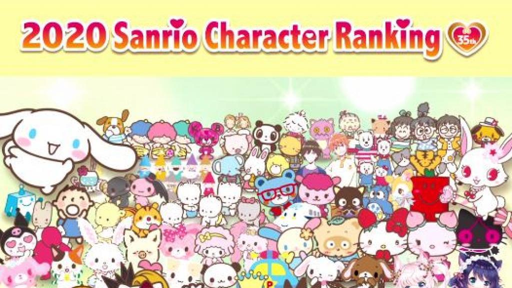 Sanrio人物大賞2020中期結果出爐!全球排名一覽 玉桂狗跌出香港區頭3名