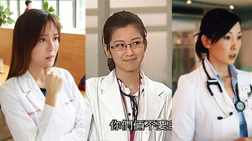 【仁心解碼】陳自瑤靚女醫生look成功搶鏡 盤點20位女藝人最美醫生造型