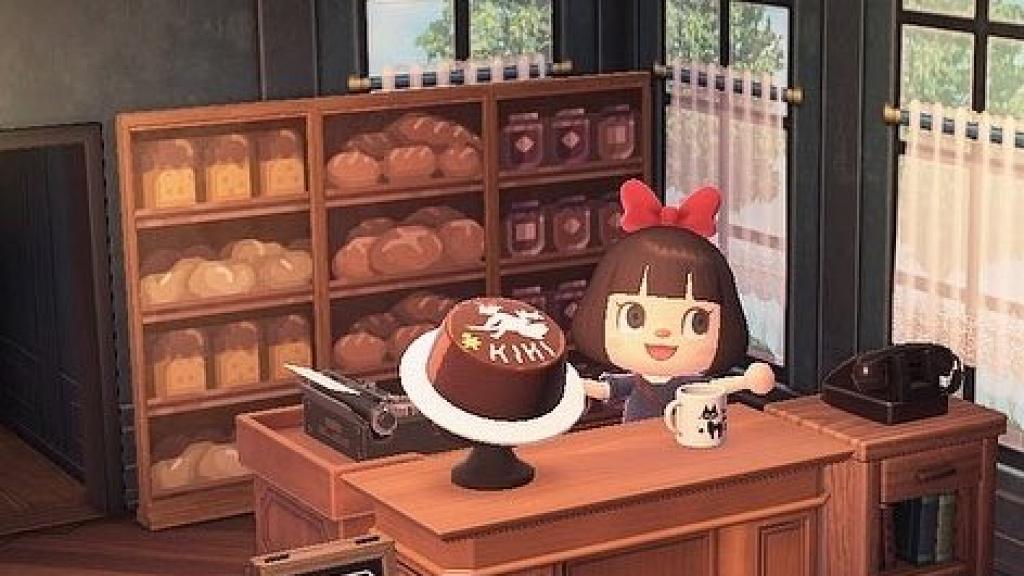【動物之森/動物森友會】玩家還原《魔女宅急便》琪琪麵包店!牆紙+蛋糕帽下載