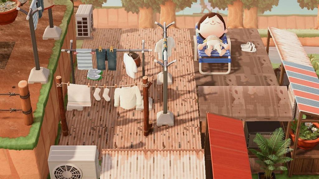 【動物之森/動物森友會】日本玩家自製九龍城寨 鐵皮屋重現懷舊香港獲網民力讚