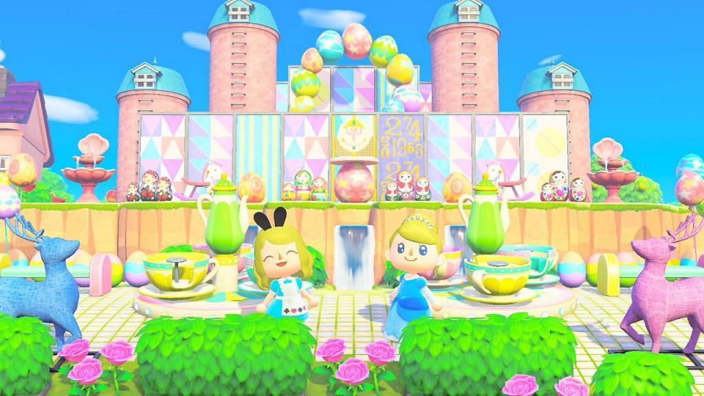 【動物之森/動物森友會】無人島整迪士尼小小世界/公主城堡!精選公主服飾推介