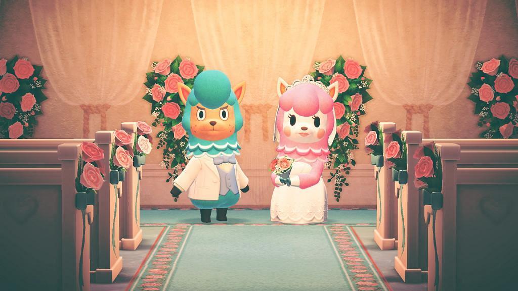 【動物之森/動物森友會】六月新娘活動道具一覽 限定婚禮傢俱/地板/婚紗禮服