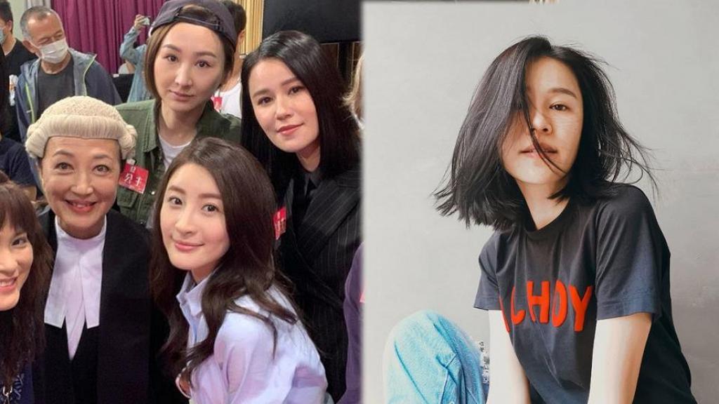 重頭劇《七公主》龐大陣容曝光 齊集TVB當家花旦 黃翠如短髮LOOK最搶鏡