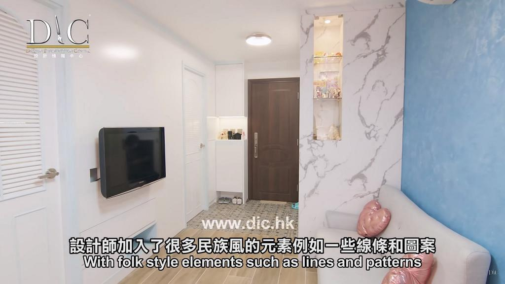 粉嶺祥華邨350呎公屋大改造變3房2廳 歐陸風情裝修富空間感網民大讚設計高質