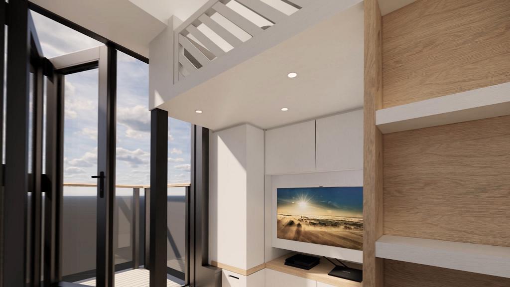 203呎納米樓連睡床都差點無處安放 4個設計重點令單位雖小五臟俱全