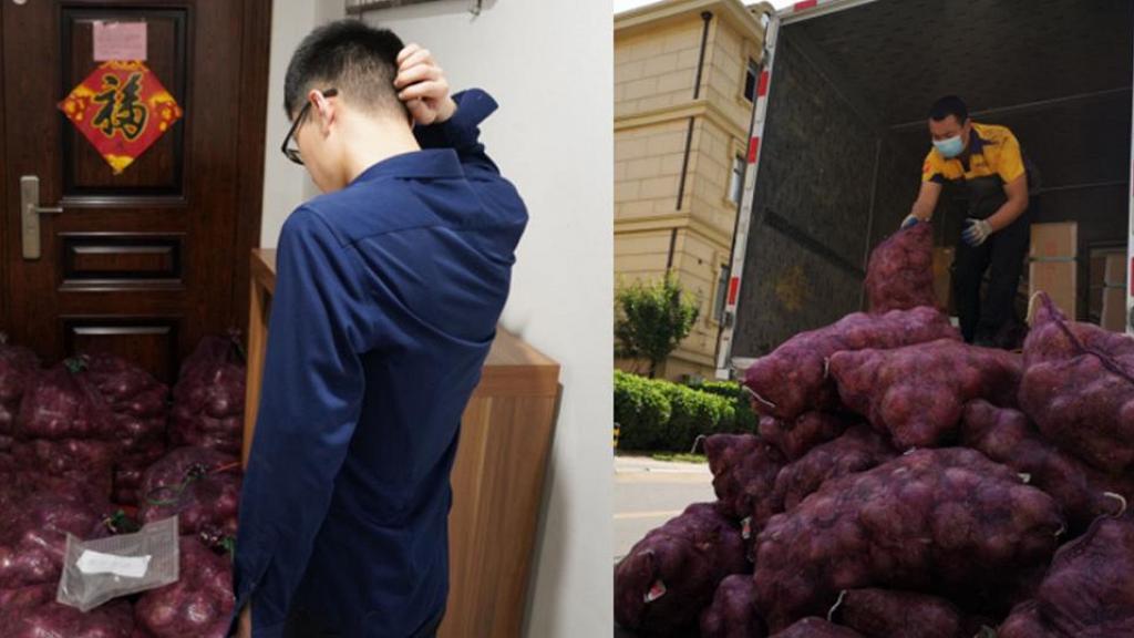 少女報復前度出軌送1噸洋蔥要他嘗眼淚的滋味 前度轉手出售洋蔥賺一千元