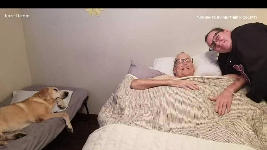忠犬九年間守候病床旁邊寸步不離 比主人早1.5小時離世仿佛預先在天堂開路