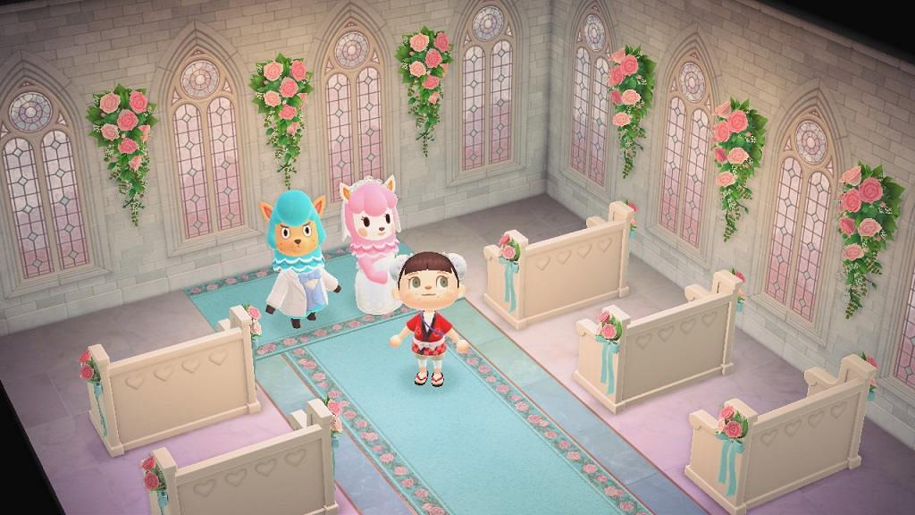 【動物之森/動物森友會】六月新娘攻略影結婚相換家具!限定婚禮家具/服裝一覽