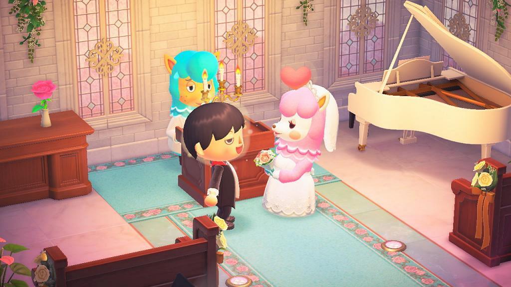 【動物之森/動物森友會】玩家惡搞六月新娘婚禮 大玩搶新娘/詭異喪禮/格鬥場景