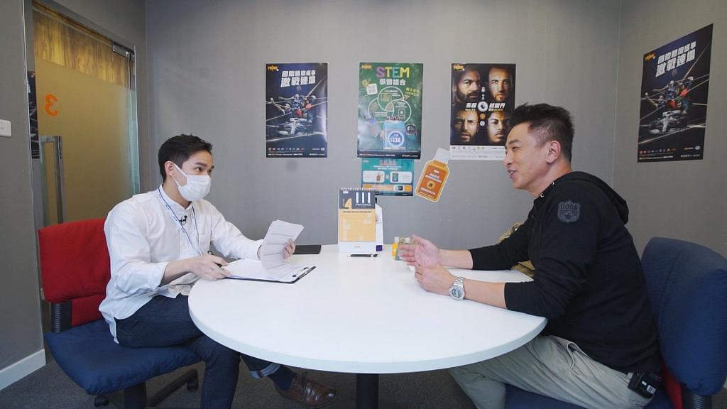 【中佬唔易做】麥包靠前TVB綠葉搭路搵新工 張松枝真名求職被當玩電話遭cut線