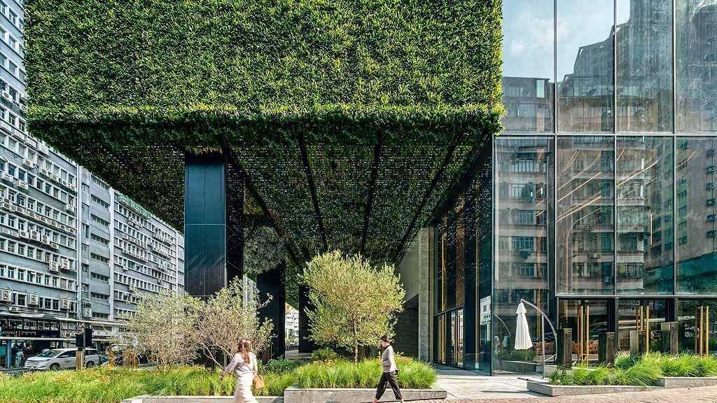 K11 ATELIER King's Road-藝術、綠化融入辦公大樓