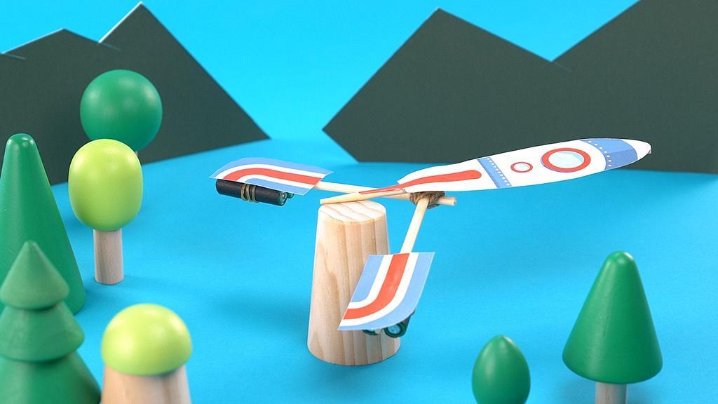 小朋友手作時間 飛機準備起飛!