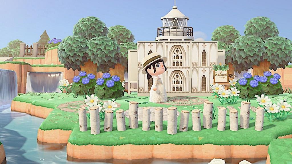 【動物之森/動物森友會】40款婚禮設計素材推介 白色教堂/水上婚宴/森林系婚禮