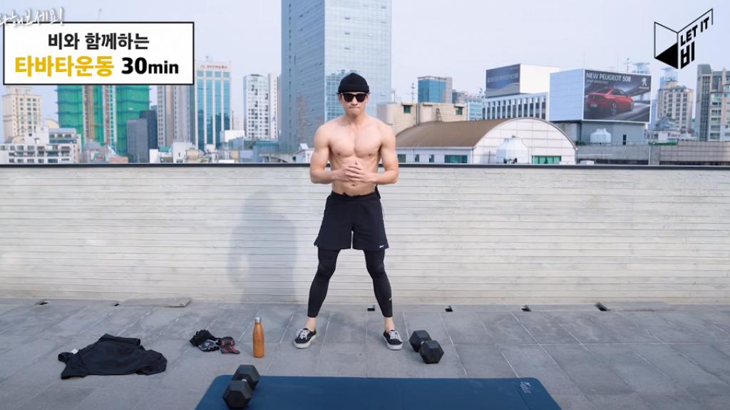 37歲Rain回復初出道體重拍片晒腹肌 公開半年減10kg減肥餐單及運動方法