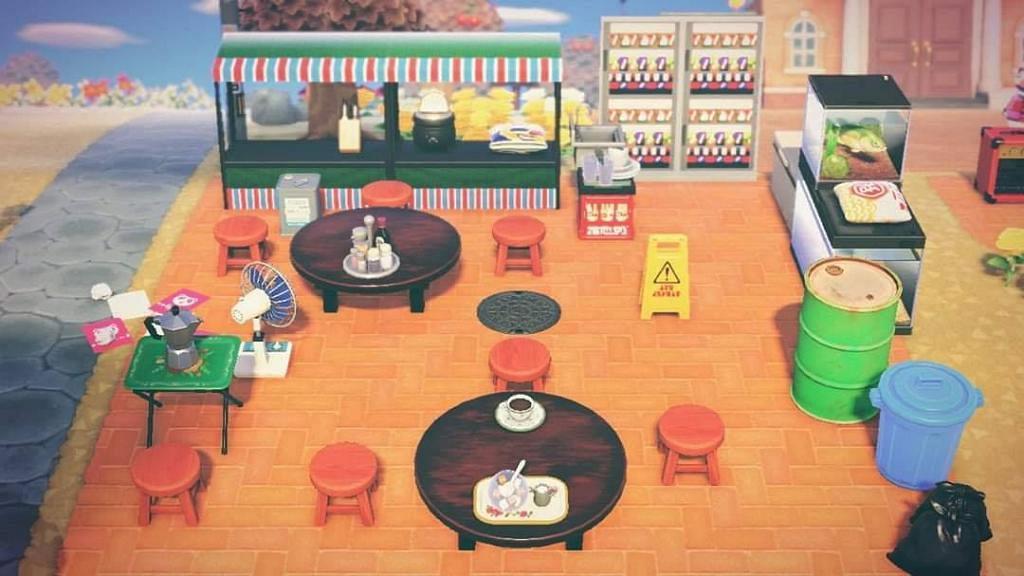 【動物之森/動物森友會】玩家打造香港特式小島 Yes卡機/扭蛋機/懷舊零食素材
