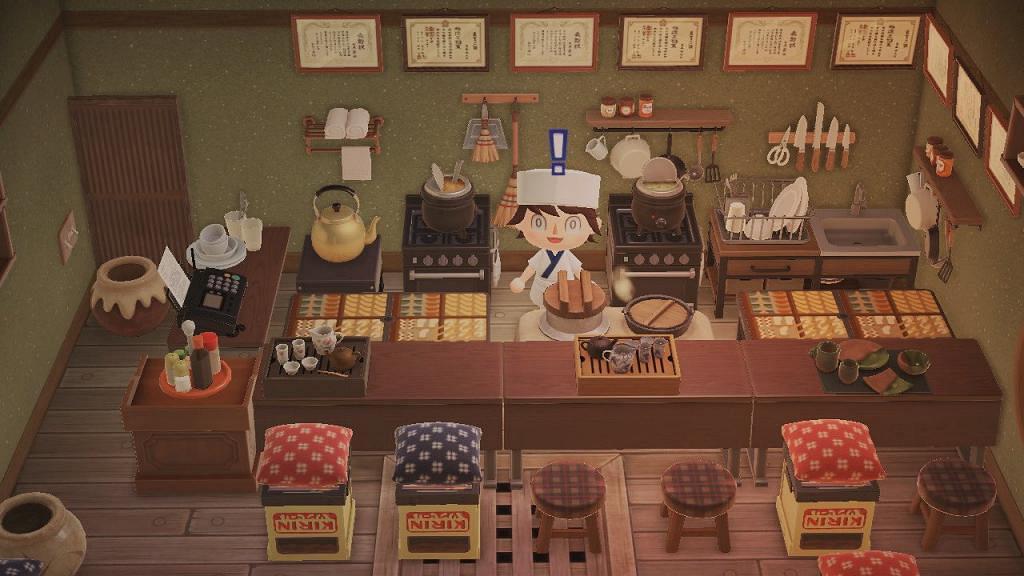 【動物之森/動物森友會】無人島開燒肉店/雪糕店!40款得意食物/桌子素材推介