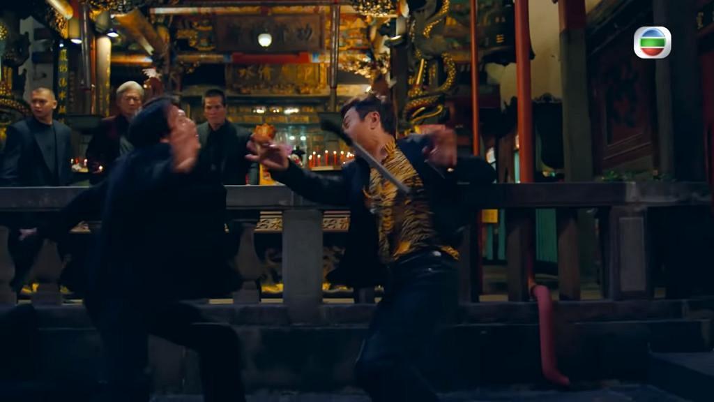 【殺手】56歲黎耀祥親身上陣 首集大量打鬥場面 與鳳姐江美儀充滿火花有CP感
