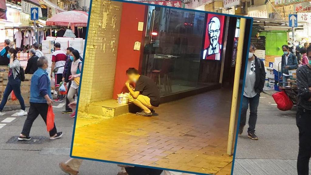 【新冠肺炎】疫情下禁堂食港人要踎街進餐 網民道盡7大職業難有地方食飯