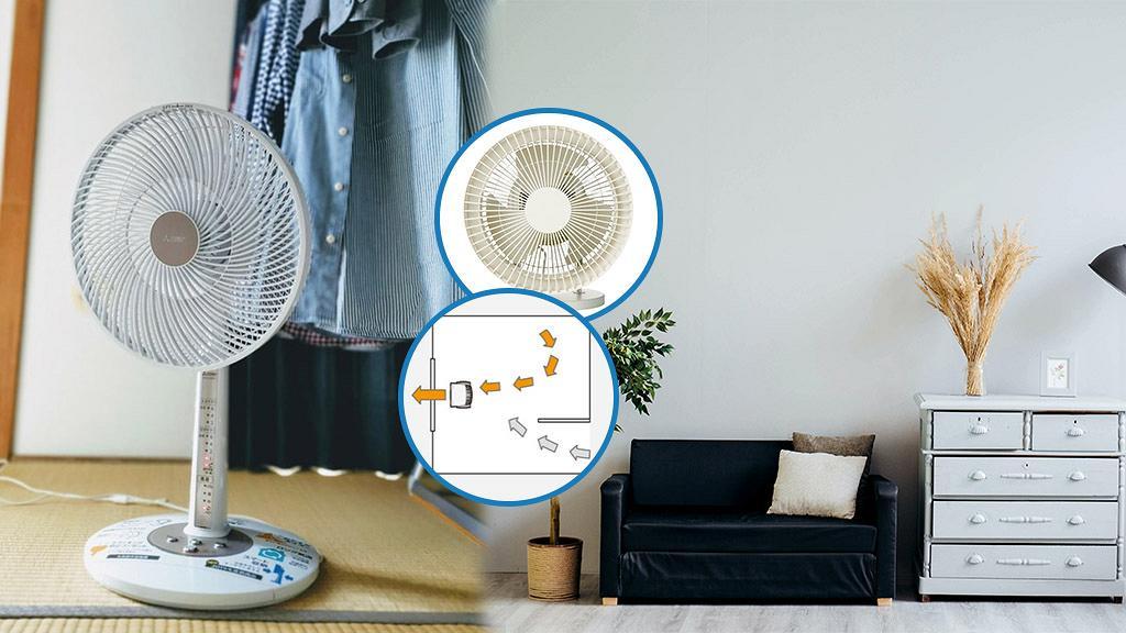 MUJI無印良品教你4個正確擺放風扇方法 慳電又環保迅速令屋企降溫