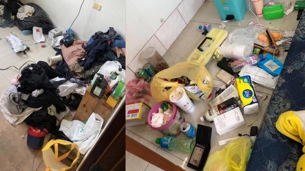 哥哥帶無業女友回家住懶惰又自私 衛生巾隨處丟 父母無奈與垃圾同眠