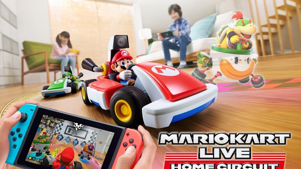 【Switch遊戲】《瑪利歐賽車實況:家庭賽車場》10月推出 屋企變賽道玩AR賽車戰
