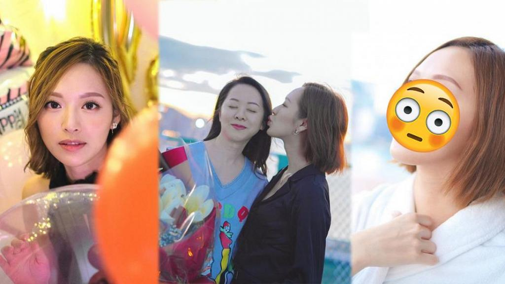 馮盈盈因母親鼓勵公開超近鏡素顏照 零修圖肌膚無瑕疵 網民讚:唔化妝都見得人!
