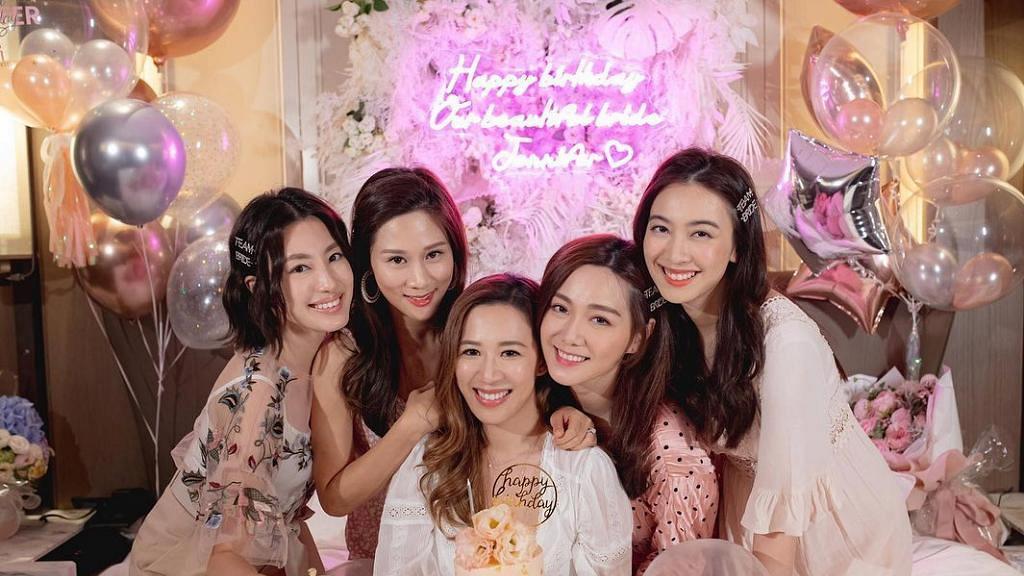 岑杏賢與好姊妹慶生踏入32歲 朱千雪爆Jennifer結婚喜訊將做人妻