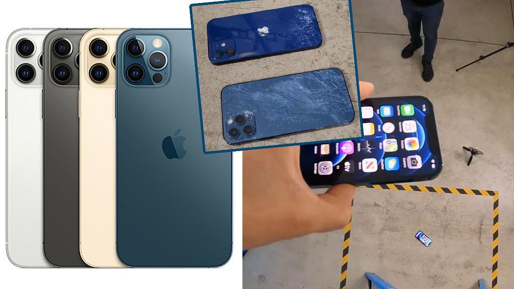 Apple iPhone 12、iPhone 12 Pro實測跌撞能力!3米高跌落地+10米防水測試結果有驚喜
