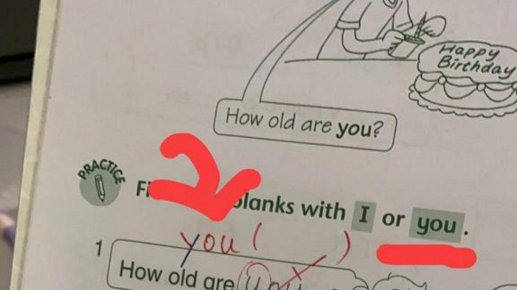 小一學生寫「y」字被老師捉有錯要改正  港媽勁無奈:改到懷疑人生!