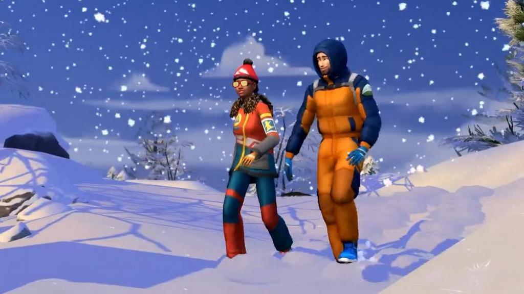 【PC/PS4遊戲】《模擬市民4: 雪國勝地》新資料片11月登場 暢遊冬日雪景滑雪/浸溫泉住日式小屋