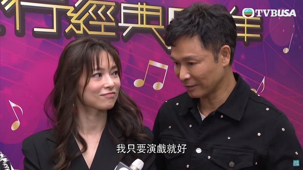 56歲視帝郭晉安被指面部僵硬崩壞「變膠」 走樣 老婆歐倩怡年屆40歲被讚外表凍齡似少女