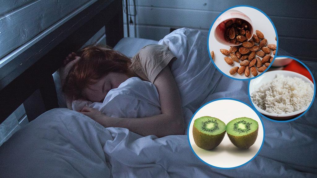 【失眠】盤點9種有助提高睡眠質素食物 奇異果/杏仁/白飯/洋甘菊茶可改善失眠