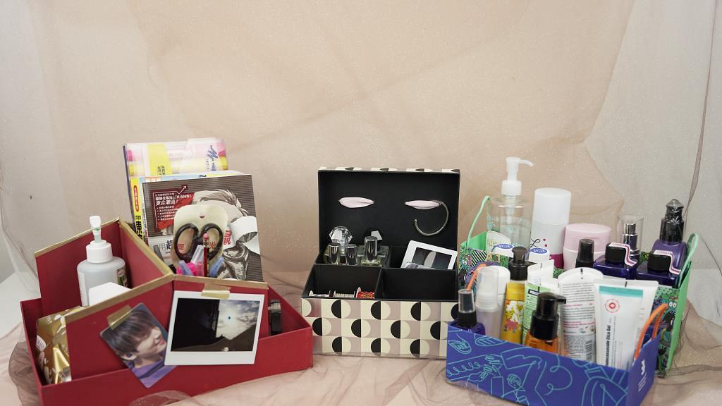 【DIY收納】紙袋/鞋盒改造零成本收納用品 簡單步驟完成3款DIY收納盒