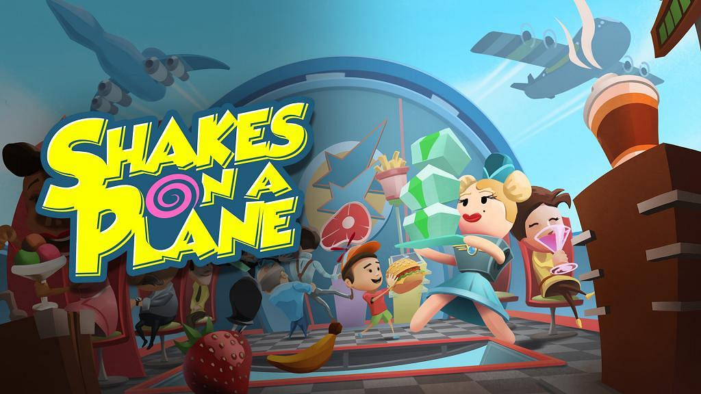 【Switch遊戲】《Shakes on a Plane》4人合作空中送餐 飛機版《Overcooked》考驗友情新遊戲
