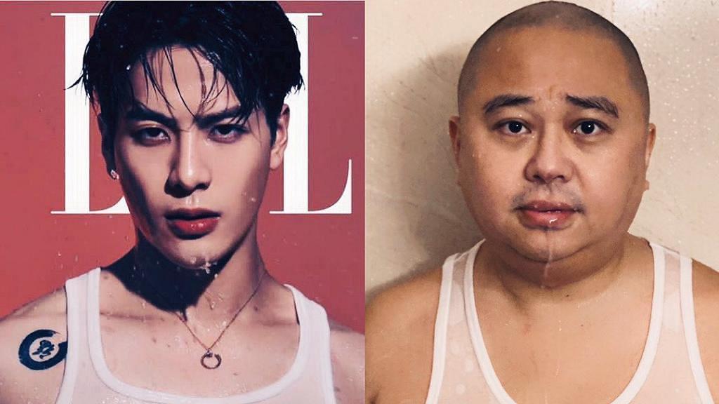 林盛斌大囡稱Jackson Wang世上最靚仔 Bob挑戰王嘉爾濕身透視背心睇到人拳頭硬晒