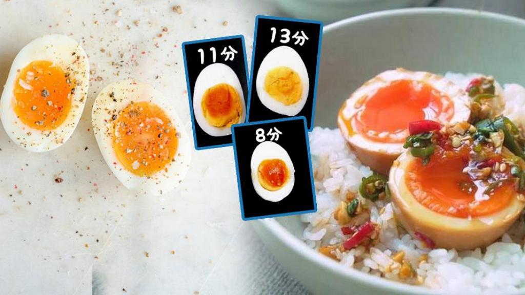 日本網民分享實用烚蛋時間表 不同時間、雞蛋熟度一覽!零失敗整溏心蛋