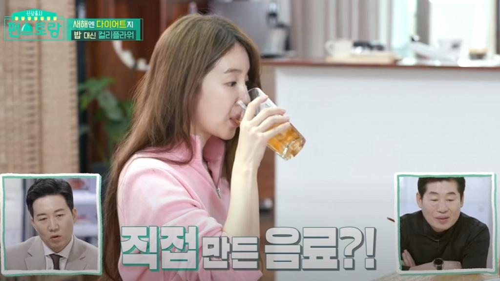 【減肥】韓國36歲演員尹恩惠公開維持好身材秘訣 自製一種健康飲料減肥同時護膚