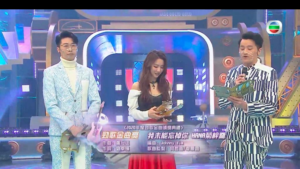 【勁歌金曲頒獎典禮2020】TVB勁歌金曲頒獎禮完整得獎名單一覽(不斷更新)