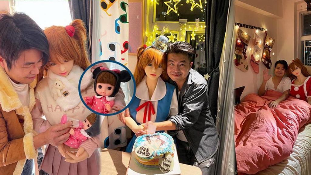 港男情傾動漫女主角人形娃娃 視之為老婆愛放閃 宣布添丁喜訊曬一家三口幸福照