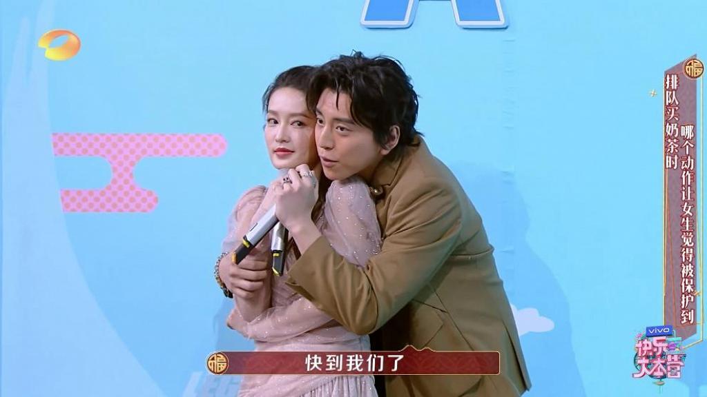 臉貼臉熊抱內地女星李沁被罵「鹹豬手」 台灣演員王大陸半夜微博出POST反擊網民