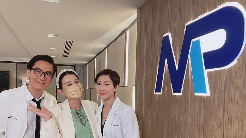 胡杏兒佗巨肚重返TVB探胡定欣馬國明 亂入《白色強人II》網民問係咪返娘家客串