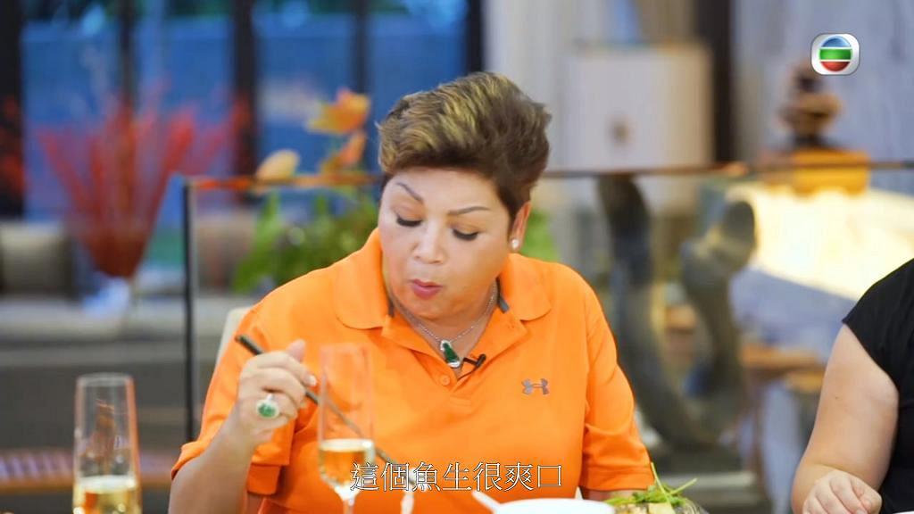 肥媽曾在飲食節目力讚淡水魚生好味 自爆有5個物業揸手 退休後獨自搬到內地定居