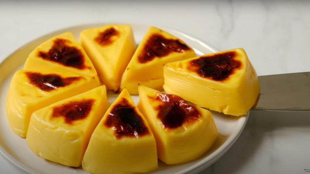 【甜品食譜】零失敗簡易甜品芝士烤牛奶 3大步驟完成!布甸質感+香甜牛奶芝士味 (內附食譜)