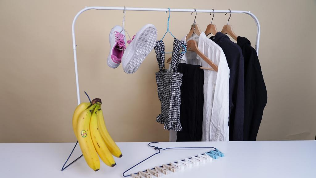 衣架5大日常實用小貼士 簡單改造掛架/衣櫃收納/晾鞋