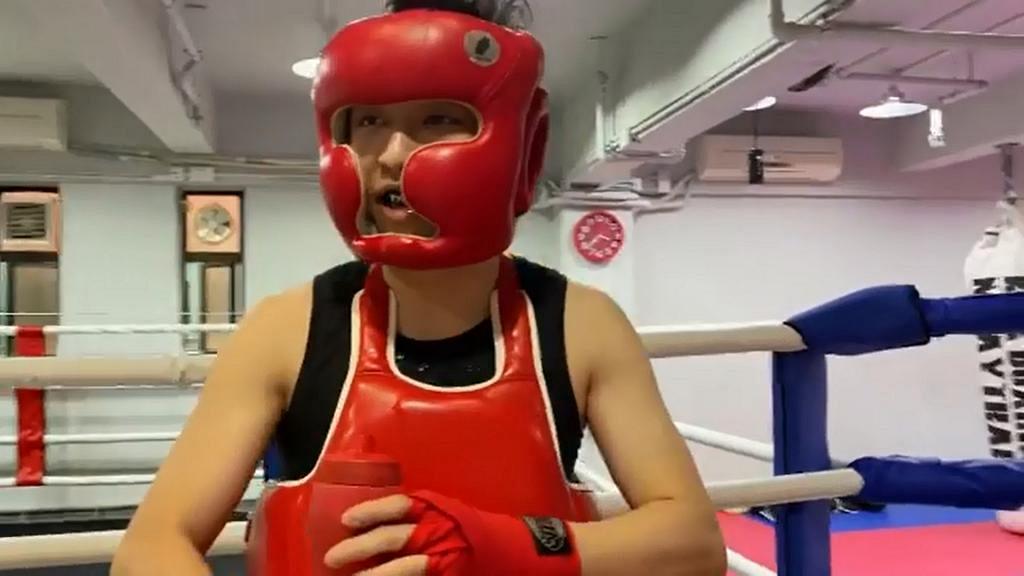 林作積極備戰操練為九月林鍾大戰做準備 初上擂台試水溫被15歲少年追擊:無奈俾人恰