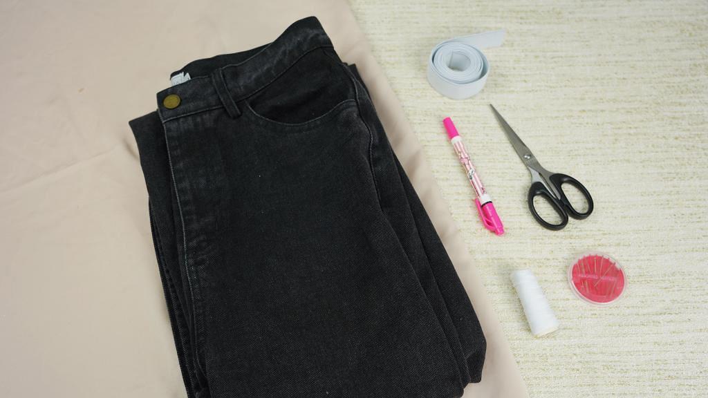 【DIY】3個簡單方法DIY改窄牛仔褲 手動改褲頭輕鬆令牛仔褲更貼身