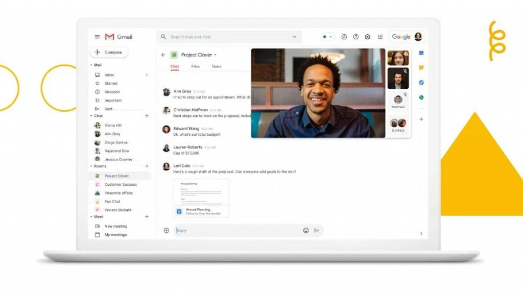 Gmail新加入Google Chat功能 一次過聊天/視像開會/電郵工作更方便
