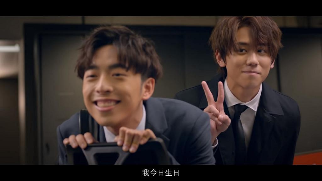 MIRROR拍新廣告「大姜的愛」玩Hehe辦公室戀情 姜濤耳語情挑Edan 與Anson Lo爭仔