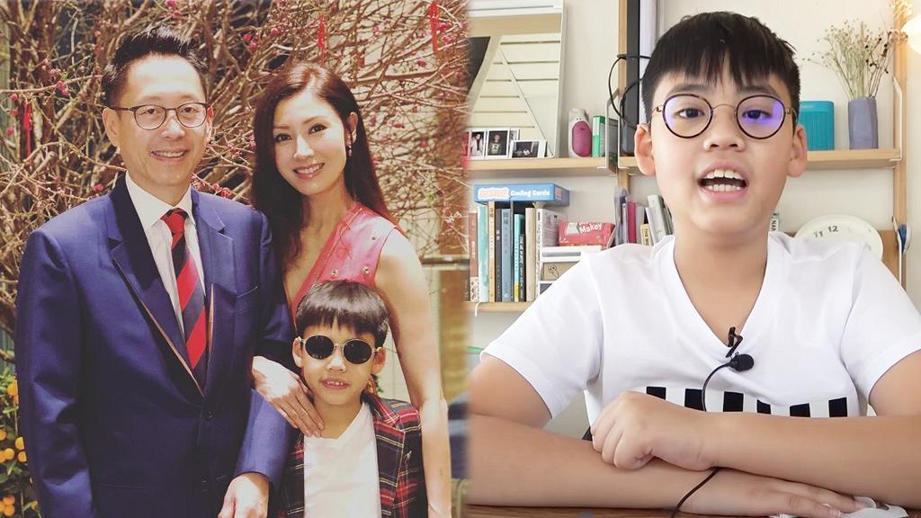 李嘉欣10歲兒子拍片做YouTuber教打機大晒流利英文 與許晉亨餅印十足盡得父母優良遺傳
