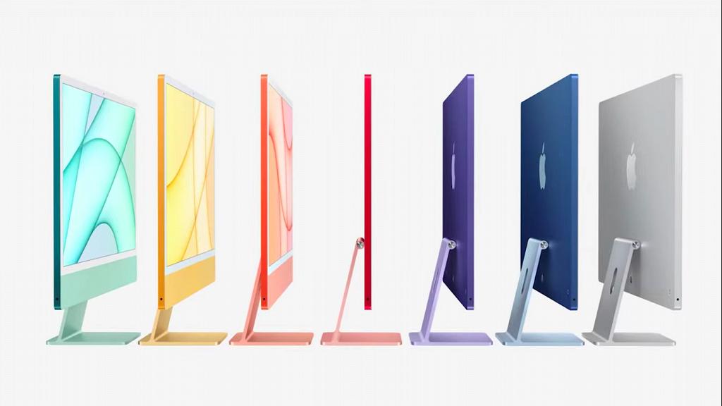 【Apple Event蘋果發佈會2021】全新電腦iMac 2021推7大顏色 12大賣點!規格/功能/價錢/預訂日期